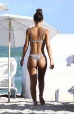 ERIKA WHEATON in Bikini at a Beach in Miami 12/05/2017