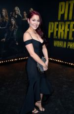ERIN ROBINSON at Pitch Perfect 3 Premiere in Los Angeles 12/12/2017