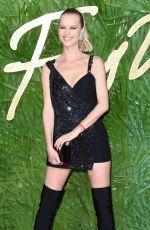 EVA HERZIGOVA at British Fashion Awards 2017 in London 12/04/2017