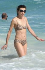 EVE MAVRAKIS in Bikini on the Beach in Cancun 12/26/2017