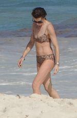 EVE MAVRAKIS in Bikini on the Beach in Cancun 12/26/2017