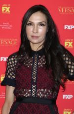 FAMKE JANSSEN at The Assassination of Gianni Versace: American Crime Story Premiere in New York 12/11/2017