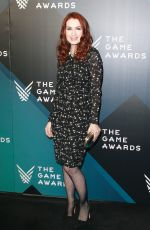 FELICA DAY at The Game Awards 2017 at Microsoft Theater in Los Angeles 12/07/2017