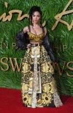 FKA TWIGS at British Fashion Awards 2017 in London 12/04/2017