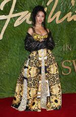 FKA TWIGS at Fashion Awards 2017 in London 12/04/2017