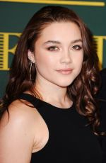 FLORENCE PUGH at London Evening Standard Theatre Awards in London 12/03/2017