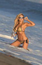 FRANCESCA LARRAIN in Bikini for 138 Water Photoshoot in Malibu 11/30/2017