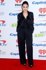 FRANCIA RAISA at Kiis FM's Jingle Ball in Los Angeles 12/01/2017