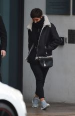 FRANKIE BRIDGE and LOUISE REDKNAPP Leaves Hilton Hotel in Liverpool 12/29/2017