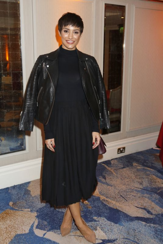 FRANKIE BRIDGE at Tric Awards Christmas Lunch in London 12/12/2017