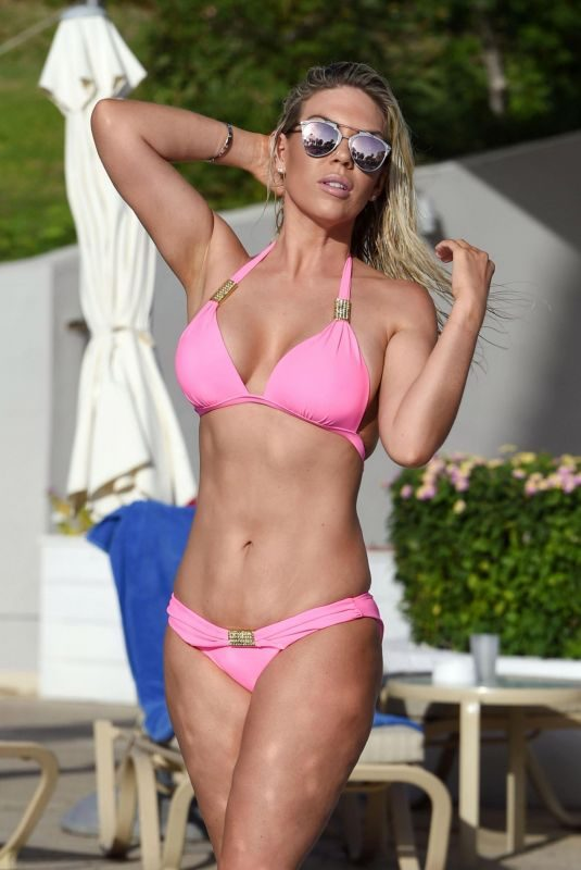 FRANKIE ESSEX in Bikini at a Beach in Cape Verde 12/13/2017