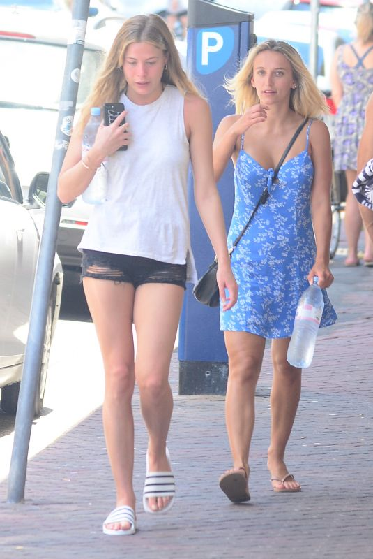 FRANKIE GAFF and TIFFANY WATSON Out at Bondi Beach in Sydney 12/30/2017