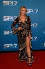 GABBY ALLEN at Sports Personality of the Year Awards in Liverpool 12/17/2017