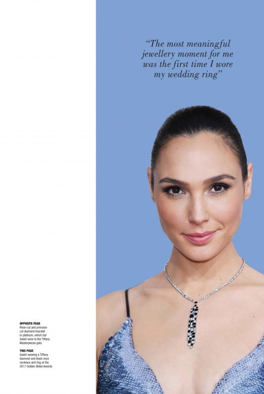 GAL GADOT for Solitaire Magazine, December 2017