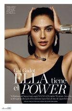 GAL GADOT in Elle Magazine, Spain January 2018