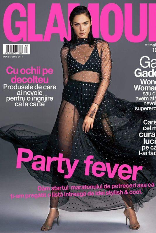 GAL GADOT in Glamour Magazine, Romania December 2017