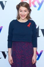 GEMMA WHELAN at Sky Women in Film and TV Awards in London 11/30/2017