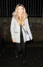 GEORGIA TOFFOLO Arrives at Pure Bar in Bexleyheath 12/23/2071