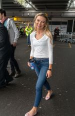 GEORGIA TOFFOLO at Heathrow Airport in London 12/13/2017
