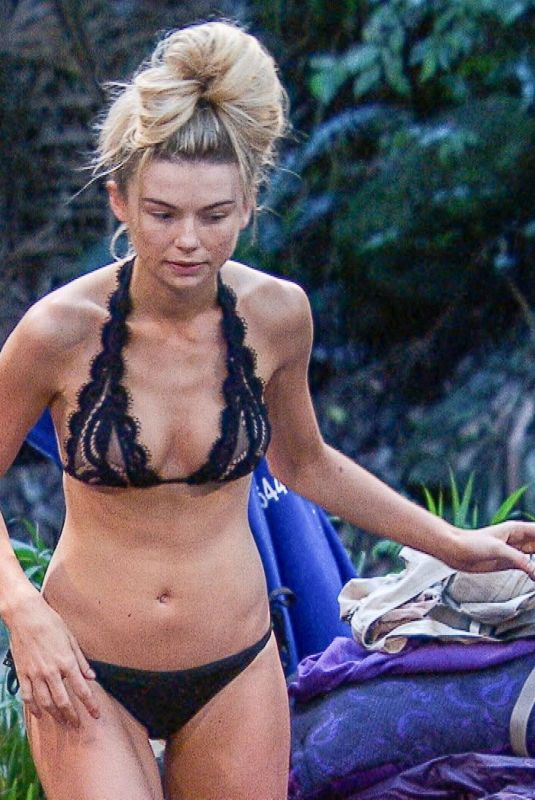 GEORGIA TOFFOLO at I'm a Celebrity… Get Me Out of Here! in Australia 12/01/2017