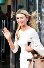 GEORGIA TOFFOLO Leaves ITV Studios in London 12/14/2017
