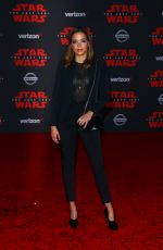 GEORGIE FLORES at Star Wars: The Last Jedi Premiere in Los Angeles 12/09/2017
