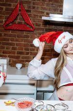 GIGI HADID Hosting an Intimate Holiday Celebration for Reebok in New York 12/14/2017