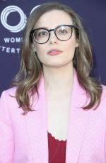 GILLIAN JACOBS at Hollywood Reporter's 2017 Women in Entertainment Breakfast in Los Angeles 12/06/2017