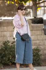 GINNIFE GOODWIN and Josh Dallas Out for Lunch in Studio City 11/29/2017