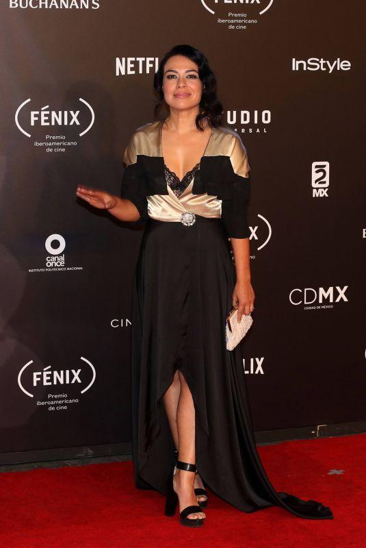 GIOVANNA ZACARIAS at Fenix Film Awards in Mexico City 12/06/2017