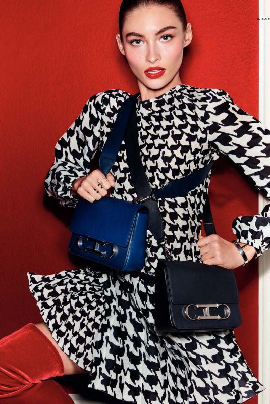 GRACE ELIZABETH in Vogue Magazine, Spain January 2018