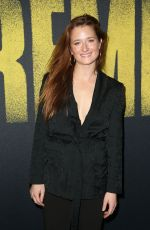 GRACE GUMMER at Pitch Perfect 3 Premiere in Los Angeles 12/12/2017