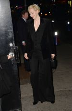 GWENDOLINE CHRISTIE Arrives at Late Show with Stephen Colbert in New York 12/04/2017