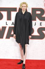 GWENDOLINE CHRISTIE at Star Wars: The Last Jedi Photocall in London 12/13/2017