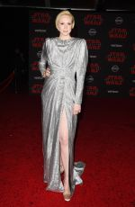GWENDOLINE CHRISTIE at Star Wars: The Last Jedi Premiere in Los Angeles 12/09/2017