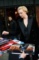 GWENDOLINE CHRISTIE Leaves Bowery Hotel in New York. 12/04/2017