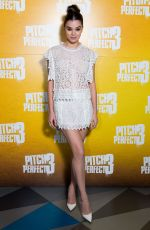 HAILEE STEINFELD at Pitch Perfect 3 Special Screening at Picturehouse Central in London 12/07/2017