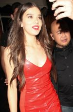 HAILEE STEINFELD Celebrates Her 21st Birthday at Nice Guy in West Hollywood 12/16/2017