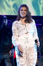HAILEE STEINFELD Performs at Wild 94.9's FM's Jingle Ball in San Jose 11/30/2017