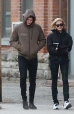 HAILEY BALDWIN and Shawn Mendes Out in Toronto 12/21/2017