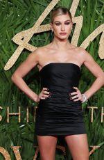 HAILEY BALDWIN at British Fashion Awards 2017 in London 12/04/2017