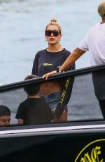 HAILEY BALDWIN Out for Boat Ride in Miami 12/27/2017