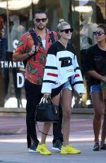 HAILEY BALDWIN Out Shopping in Miami 12/28/2017
