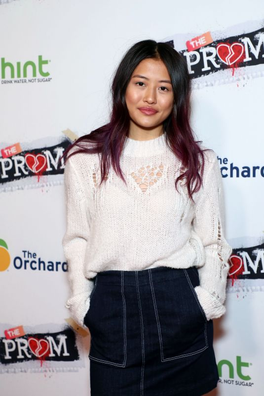HALEY TJU at F the Prom Premiere in Hollywood 11/29/2017