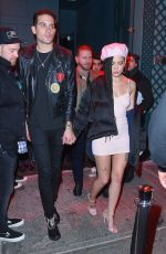 HALSEY and G-Eazy at Avenue Nightclub in New York 12/08/2017