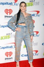 HALSEY at Kiis FM's Jingle Ball in Los Angeles 12/01/2017