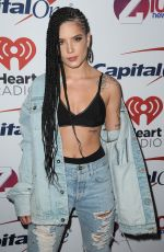 HALSEY at Z100 Jingle Ball in New York 12/08/2017
