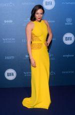 HANNAH JOHN-KAMEN at British Independent Film Awards in London 12/10/2017