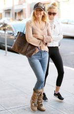 HEATHER LOCKLEAR and AVA SAMBORA Out for Breakfast in Beverly Hills 12/29/2017
