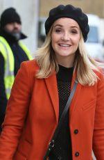 HELEN SKELTON Leaves ITV Studios in London 11/30/2017